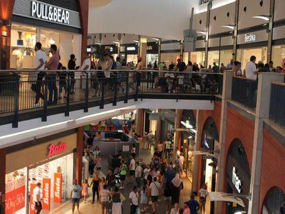 Un centro comercial en Girona