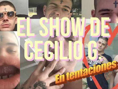 Estreno: Cecilio G presenta su propio programa de entrevistas en Tentaciones