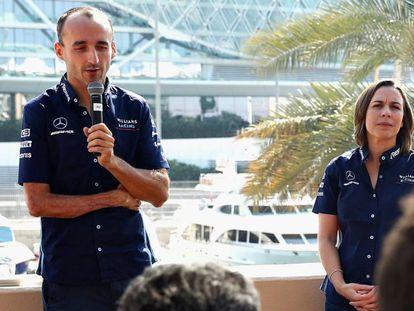 Robert Kubica, en el anuncio de su vuelta a la F1.