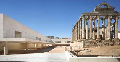 Templo de Diana, en Mérida. |
