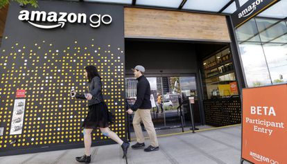 La tienda de Amazon Go, en Seattle.