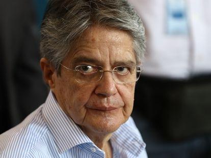 El presidente de Ecuador Guillermo Lasso en Guayaquil, Ecuador, el 9 de julio pasado.