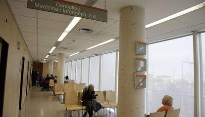 Un centro sanitario de Barcelona