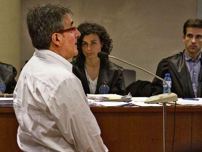 Jordi Ausàs, durante el juicio por contrabando de tabaco.