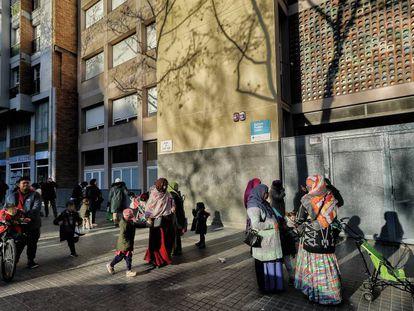 Un colegio público de Barcelona, en una imagen de archivo.
