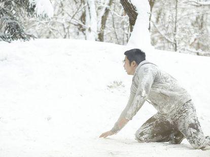 Escena de la película Intruders (2014), del director Noh Young-seok.