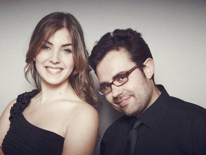 Laura Sierra y Manuel Tévar.
