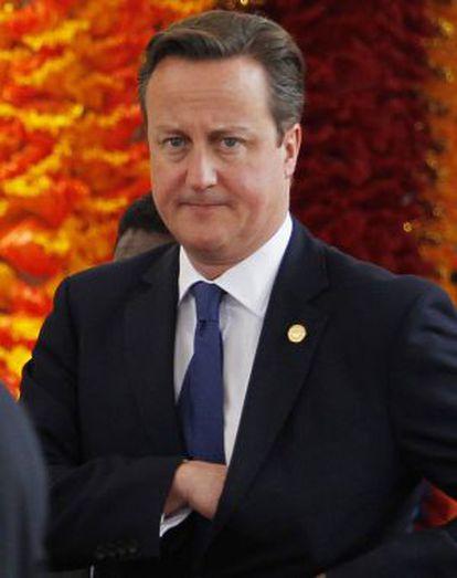 David Cameron, el pasado 15 de noviembre.