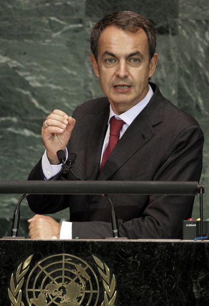 El presidente del Gobierno interviene desde la Asamblea General de Naciones Unidas en Nueva York