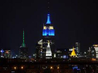 Aspecto del edificio Empire State en Nueva York (EE.UU.). EFE/Archivo