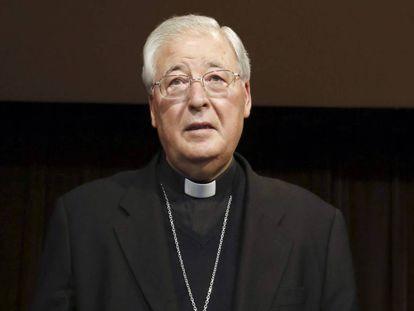 El obispo de Alcalá de Henares, Juan Antonio Reig Pla, en 2014.