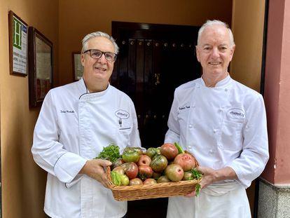 Julián Barbolla y Francisco Vicente. J.C. CAPEL
