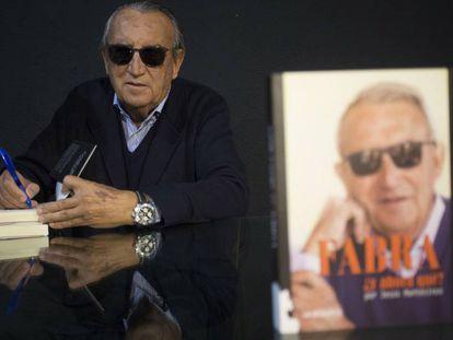 Carlos Fabra, durante la presentación de su libro.