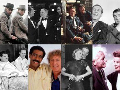 Algunas salieron tarifando y otras se ayudaron hasta su último suspiro. Y de todas disfrutamos en la pantalla  Paul Newman-Robert Redford, Katharine Hepburn-Spencer Tracy, Kirk Douglas-Burt Lancaster, Fred Astaire-Ginger Rogers...