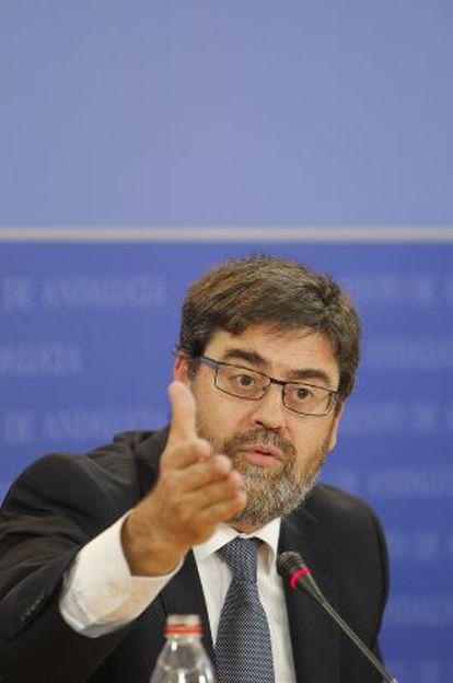 Antonio López, presidente de la Cámara de Cuentas, en 2012.