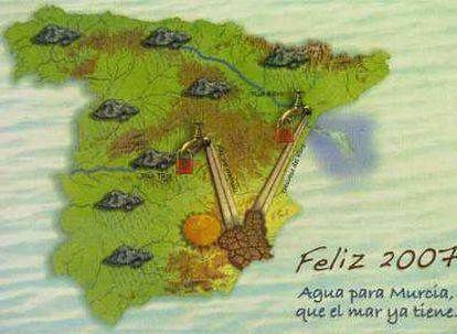 Murcia pide a Aragón por Navidad el trasvase de agua