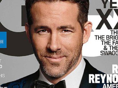 Ryan Reynolds, en la portada de la revista GQ.
