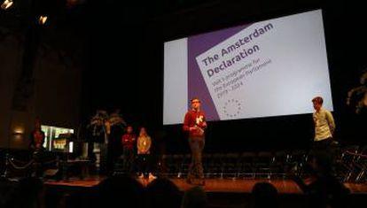 Presentación de la Declaración de Ámsterdam de Volt
