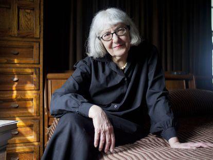 La escritora Cynthia Ozick.