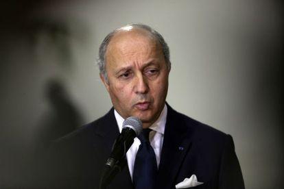 El ministro de Exteriores francés, Laurent Fabius.