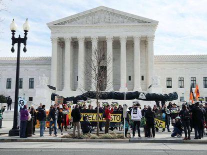 El Tribunal Supremo de Estados Unidos.