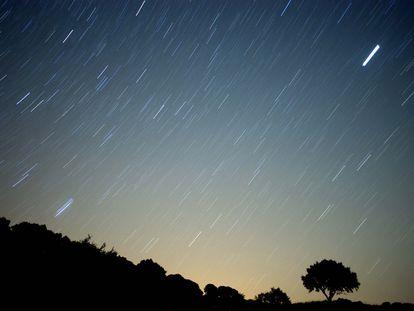Lluvia de estrellas en la sierra de Grazalema (octubre 2019).