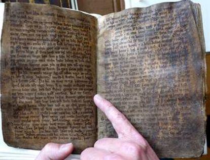 El códice 'Codex Regius', el texto más antiguo que recoge buena parte del folclore, mitos y leyendas nórdicas, contiene el poema profético Völuspá.