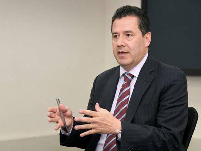 Felipe Muñoz, durante la conversación con EL PAÍS.