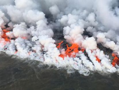 Los procesos eruptivos de los dos volcanes son completamente diferentes