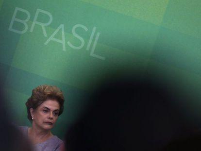 Rousseff, el día 22 en Brasilia.