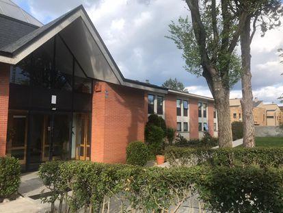 La residencia de las monjas Esclavas de la Santísima Eucaristía, en Alpedrete.