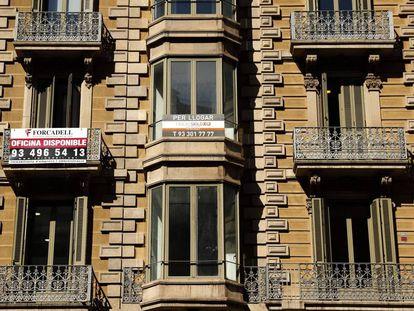 Habitatge d'alquiler a Barcelona.