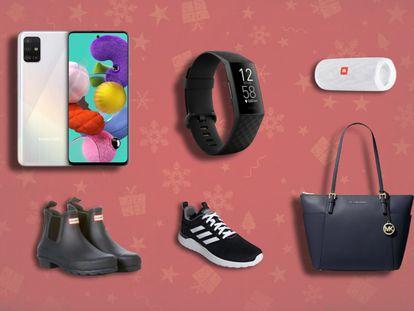 Productos de grandes marcas como Samsung, Hunter, Adidas o Michael Kors que pueden encontrarse rebajados en AlieExpress Plaza.