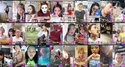 'Collage' de retransmisiones por Meipai.