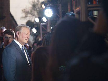 Al Gore, en la alfombra roja de 'La verdad incómoda 2'
