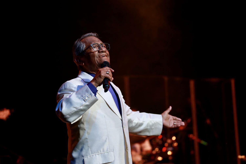 Armando Manzanero, en un concierto en Puerto Rico en febrero de 2020.