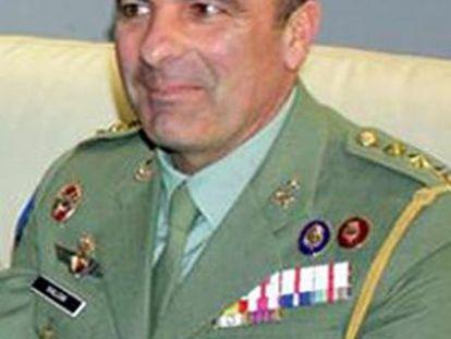 El coronel Julio Salom.