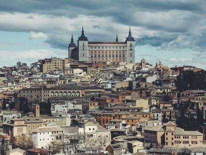 Vista aérea de Toledo.