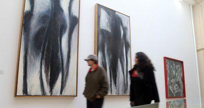 Exposición de 'Pepe Espaliú: apuntes y documentos' en el Centro de Arte de Córdoba.
