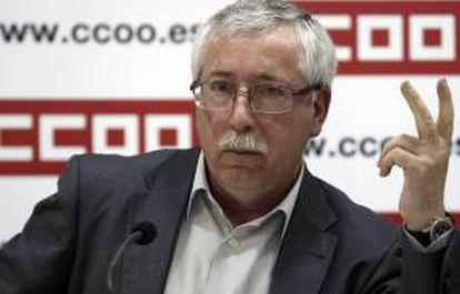 """El secretario general de Comisiones Obreras (CCOO), Ignacio Fernández Toxo, ha reivindicado hoy que """"el único camino posible"""" para que Europa salga de la """"encrucijada"""" es una refundación federal en la que la izquierda """"reconstruya"""" su discurso. EFE/Archivo"""