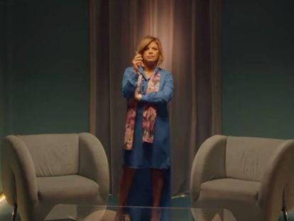 Terelu Campos en una escena de 'Paquita Salas'.