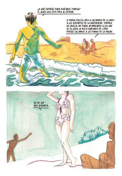 Página de 'Del Trastevere al Paraíso'.