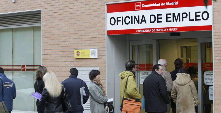 Una oficina de empleo de la Comunidad de Madrid.