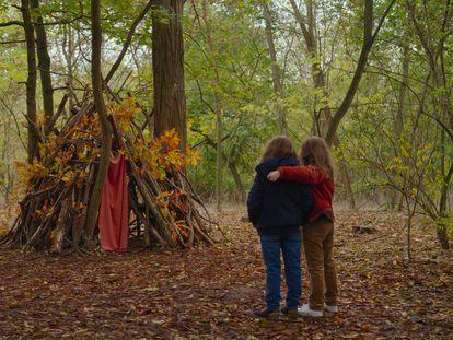 Un fotograma de 'Petite maman', de Céline Sciamma, presentada este miércoles en la Berlinale.