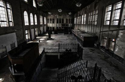 Interior del vestíbulo de la antigua Estación del Norte.