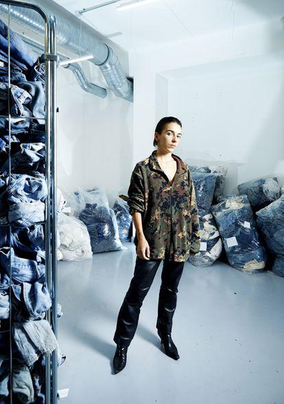 La diseñadora francesa Marine Serre.