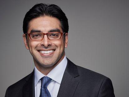 Retrato de Anil Soni, nuevo CEO de la Fundación de la Organización Mundial de la Salud
