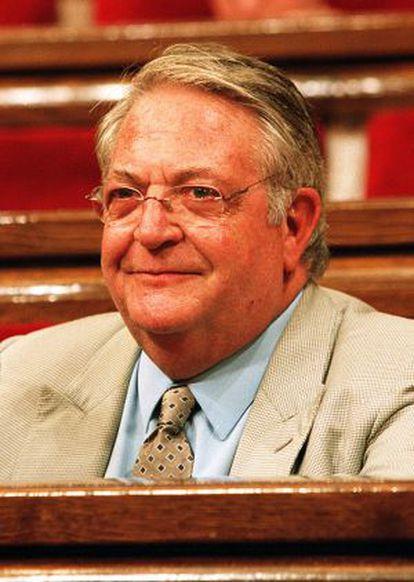 Jaume Camps en su época de diputado de CiU.