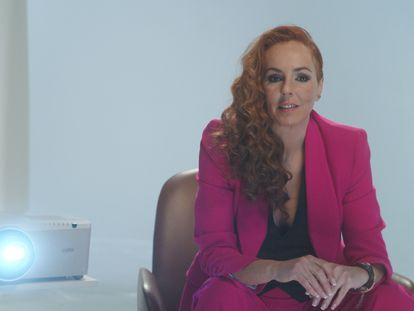 Rocío Carrasco, en el documental 'Rocío: contar la verdad para seguir viva'.