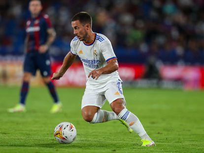 Eden Hazard, durante el Levante-Real Madrid.